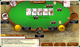 Screen Shot of free Demo Instructional Poker Videos at ProPlayLive.com